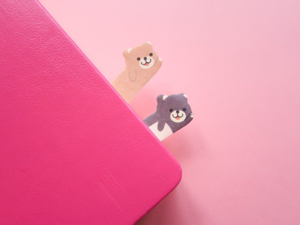 Mini Bear Sticky Page Markers