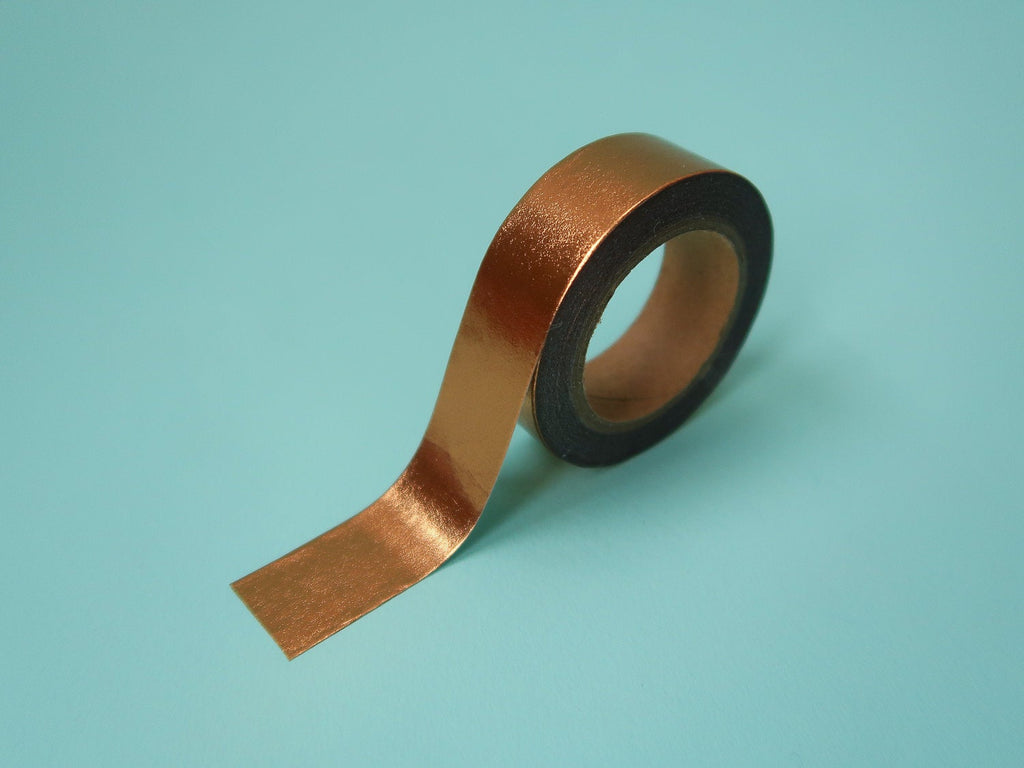 Metallic Rose Gold Washi Tape