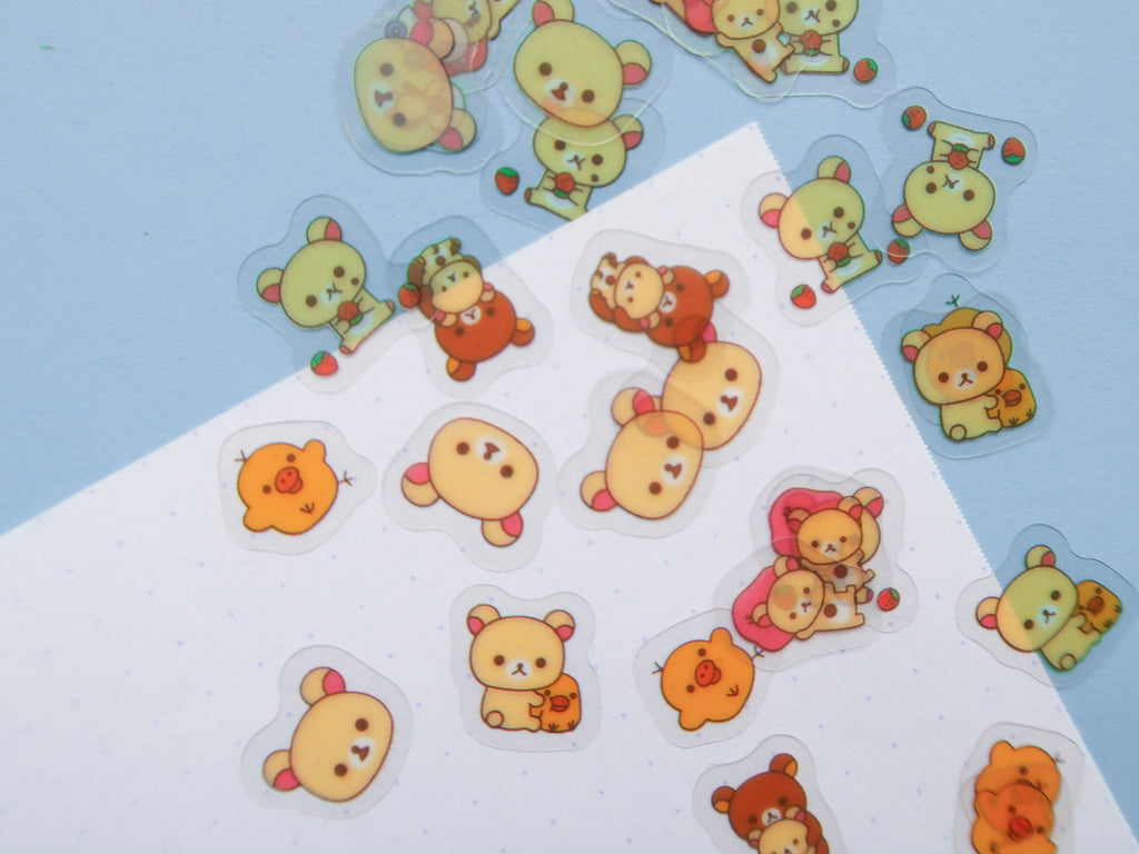 Rilakkuma Mini Stickers