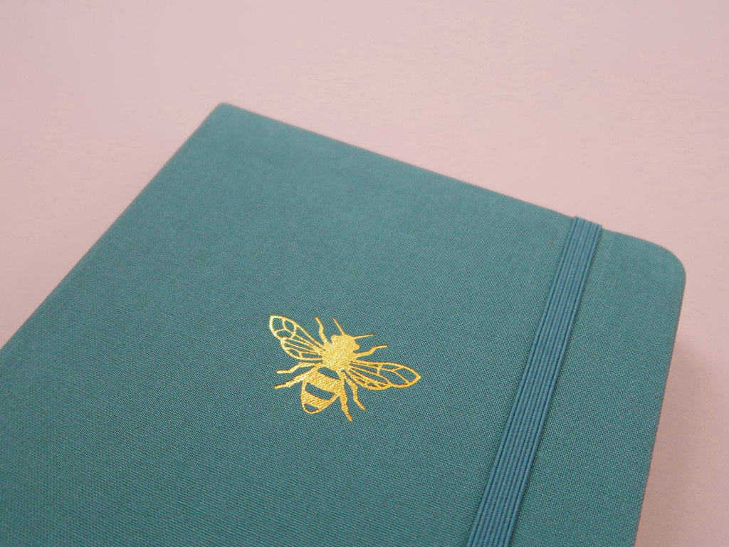 Dot Grid Journal - Teal Bee