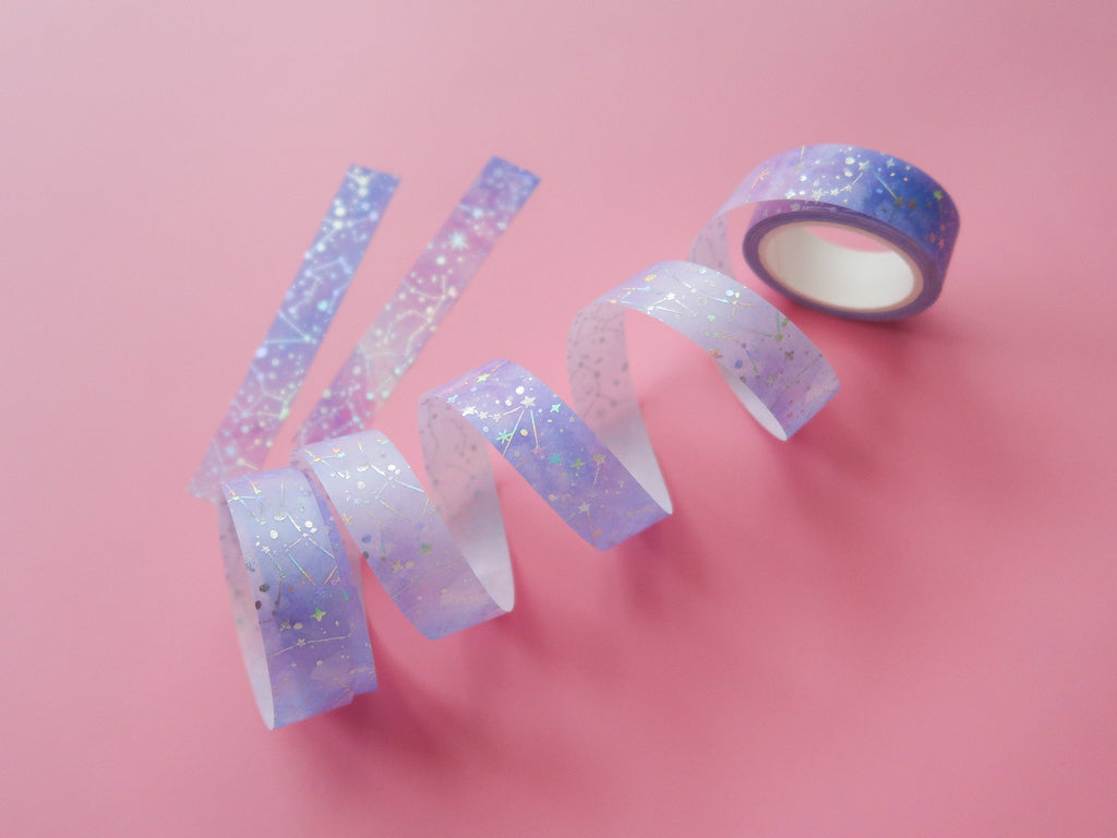 Holographic Constellation Paper Tape
