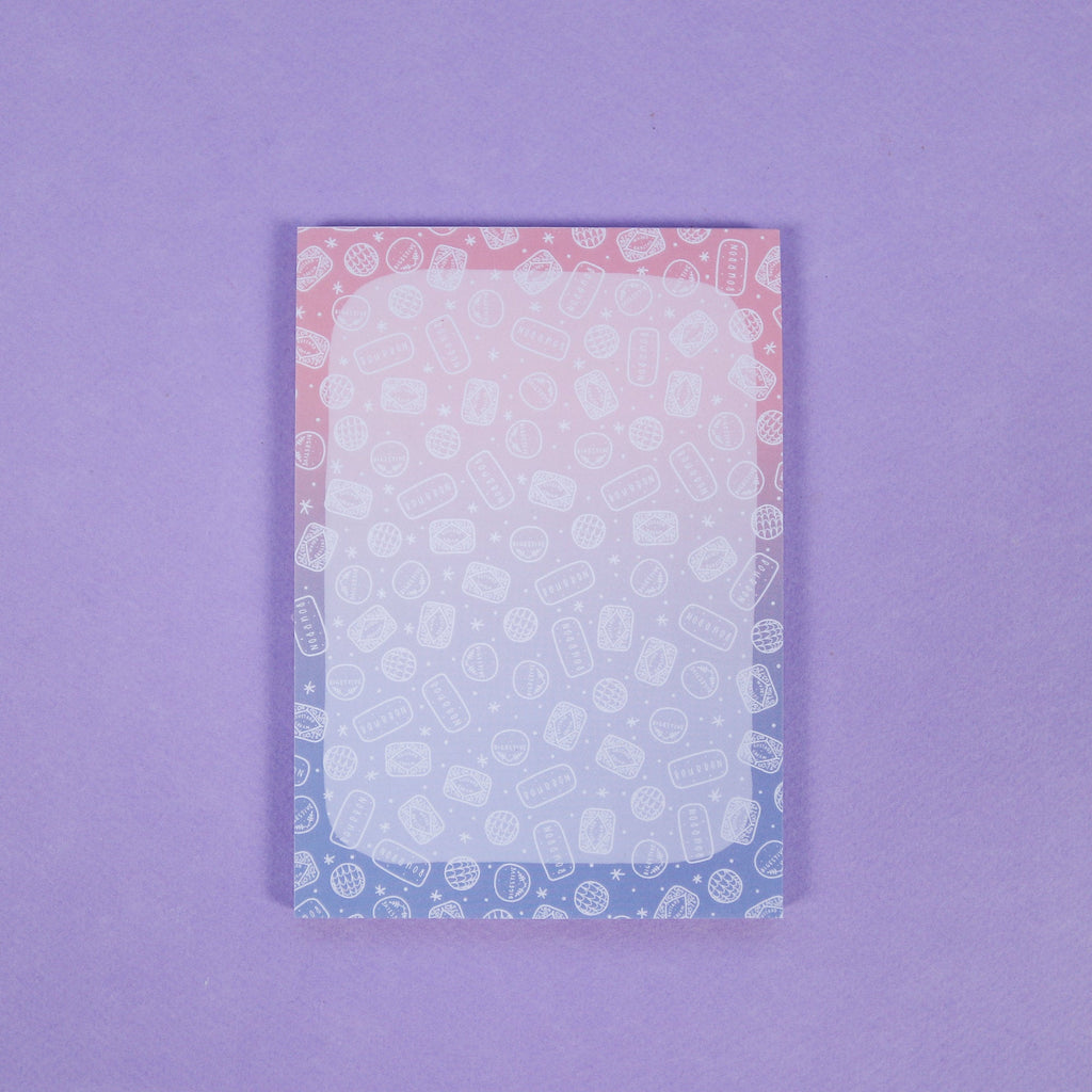 Ombre Biscuits Notepad - A6