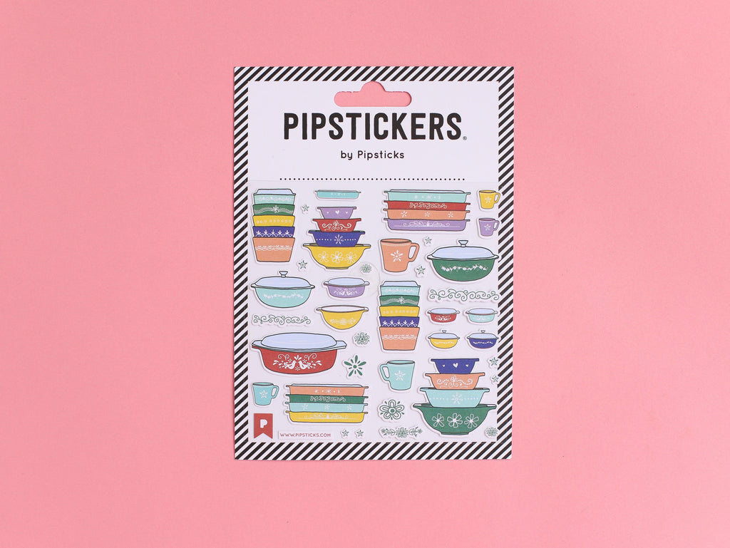 Vintage Pyrex Stickers