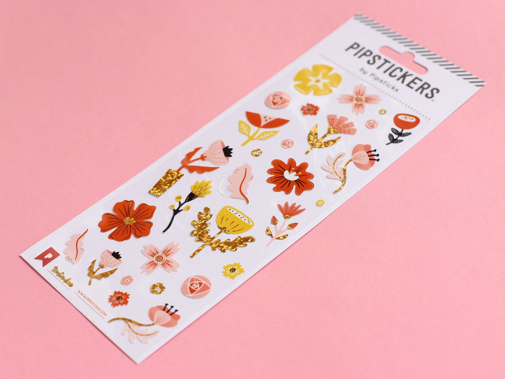 Tonia Dee - Funky Floral Stickers