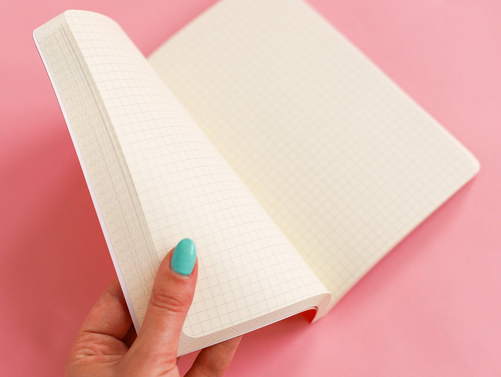 Penco B6 - Softcover Notebook - Gridded