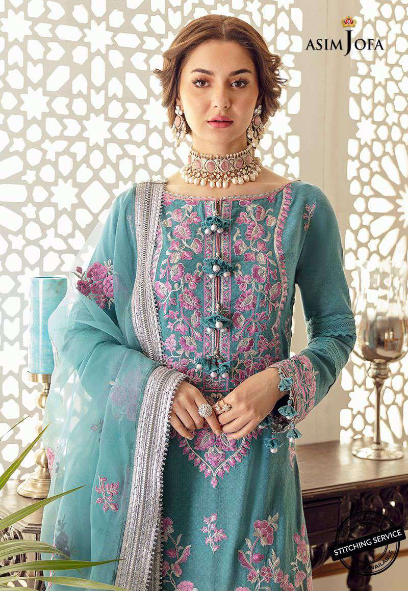 Ladies Un-Stitch Rabt Luxury Lawn Collection AJRL-16