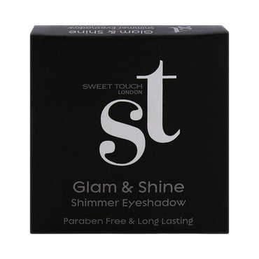 Glam & Shine Shimmer Eye Shadow - Olive