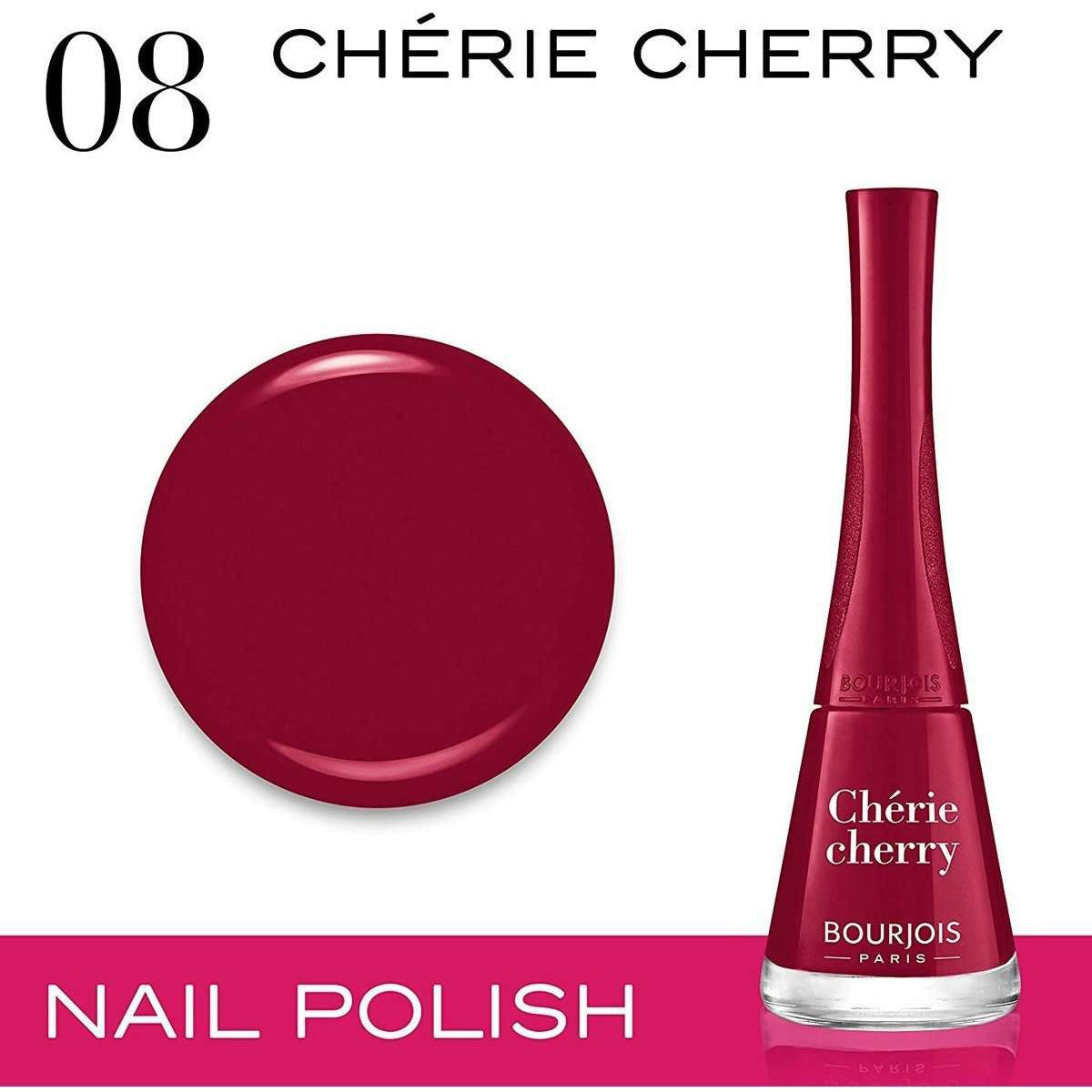 Bourjois Paris - 1 Seconde Nail Ename - 08 Cherie Cherry
