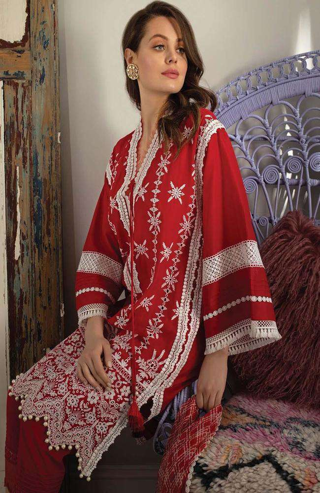 Ladies Un-Stitch Vital Embroidered Lawn 2021 (8b)