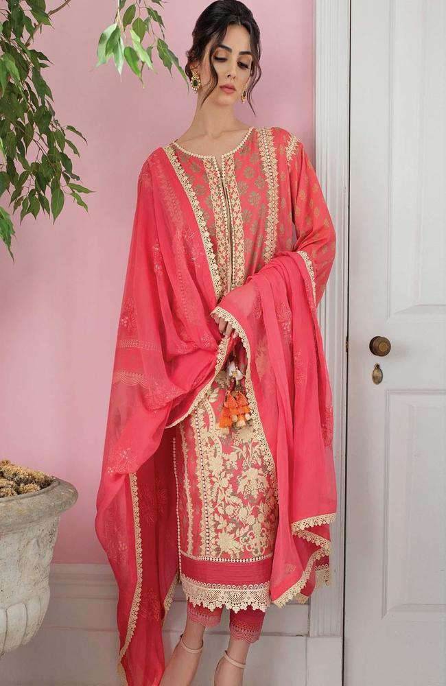 Ladies Un-Stitch Vital Embroidered Lawn 2021 (9b)