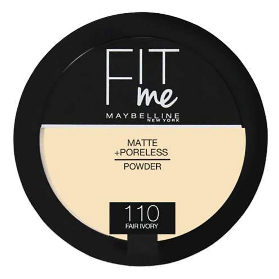 Maybelline Fit Me Matte + Poreless Powder -110 - Fair Ivory
