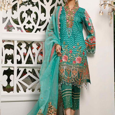 Ladies Un-Stitch Marjaan by Sifona Embroidered Lawn MEC-07-Thirza Whiff