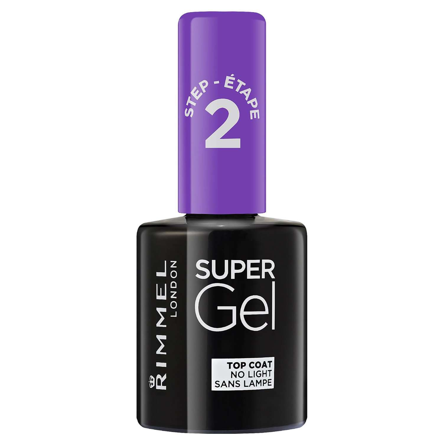 Rimmel - Super Gel Nail Color - Top Coat