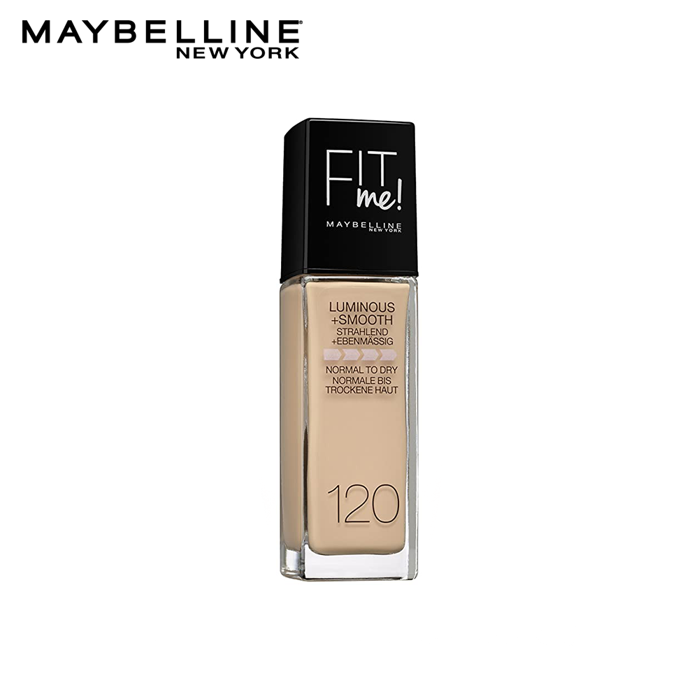 Maybelline Fit Me Luminous + Smooth Foundation -120 - Classic Ivory