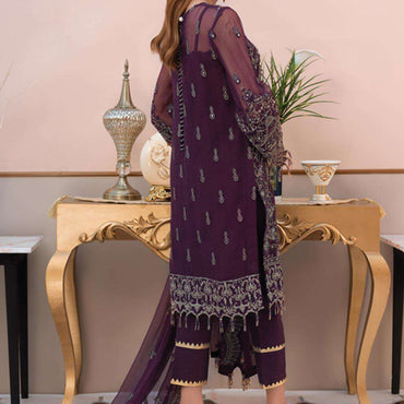 Ladies Un-Stitch Soiree Luxury Formals Collection 08-Etheree