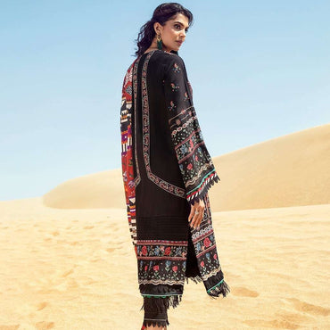 Ladies Un-Stitch Khaddar-2020 Baroque (08-HOBBY INK)