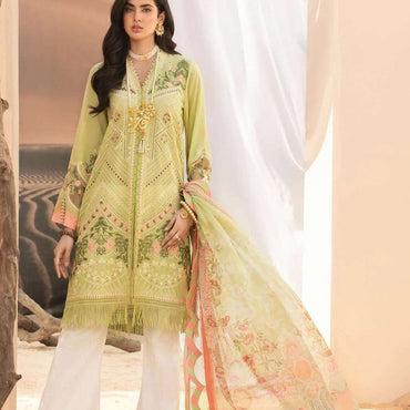 Ladies Un-Stitch Noor By Sadia Asad Luxury Lawn D1-A