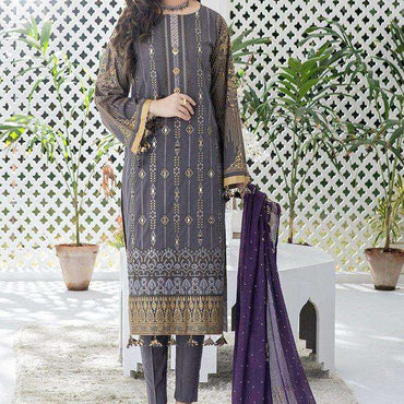 Ladies Un-Stitch 𝐄𝐢𝐝 𝐥𝐮𝐱𝐮𝐫𝐲 𝐋𝐚𝐰𝐧 𝓞𝓩𝓝𝓤𝓡 Collection (WK-00709)