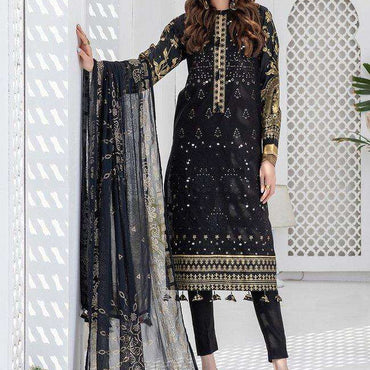 Ladies Un-Stitch 𝐄𝐢𝐝 𝐥𝐮𝐱𝐮𝐫𝐲 𝐋𝐚𝐰𝐧 𝓞𝓩𝓝𝓤𝓡 Collection (WK-00703)