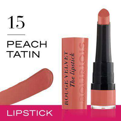 Bourjois Paris - Rouge Velvet The Lipstick - 15 Peach Tatin