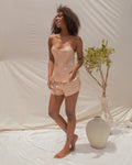 ANAHATA SHORTS IN QUARTZ
