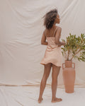ELYSIAN SLIP DRESS IN QUARTZ