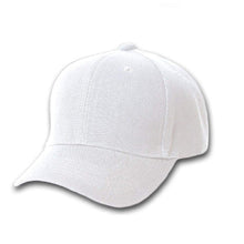 Load image into Gallery viewer, Qraftsy Plain Polyester Unisex Baseball Cap - Blank Hat with Solid Color (Black)