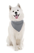 Load image into Gallery viewer, Mechaly Dog Plain Bandanas - 2 Pack - Scarf Triangle Bibs for Small, Medium and Large Puppies, Dogs and Cats (Black)