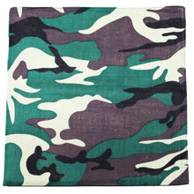 Load image into Gallery viewer, 12 Pack Uni Style Apparel Solid 100% Cotton 22 x 22 Inch Bandanas