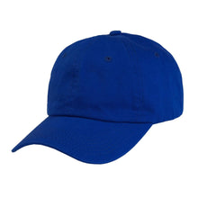 Load image into Gallery viewer, Mechaly Cotton Dad Hat Adjustable Cap (Blue)