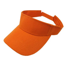 Load image into Gallery viewer, 6 Pack Sun Visor Adjustable Cap Hat Athletic Wear - One