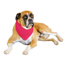 Load image into Gallery viewer, Qraftsy Solid Polyester 12 Pack Dog Neckerchief Triangle Bibs  - Extra Large (Black)