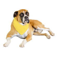 Load image into Gallery viewer, Qraftsy Solid Polyester 12 Pack Dog Neckerchief Triangle Bibs  - Extra Large