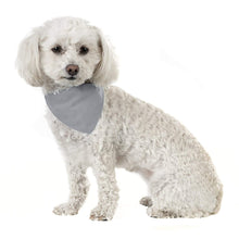 Load image into Gallery viewer, 3 Pack Solid Cotton Dog Bandana Triangle Bibs  - Small & Medium Pets