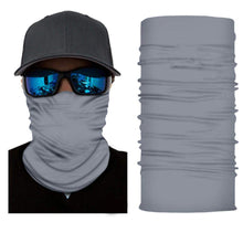 Load image into Gallery viewer, Pack of 10 Face Covering Mask Neck Gaiter Fishing and Hunting - Bulk Wholesale (Black)