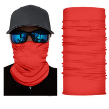 Load image into Gallery viewer, Qraftsy Motorcycle Face Covering Neck Gaiter Bike Riding Cycling Biker Fishing Hunting - 4 Pcs (Black)