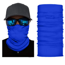 Load image into Gallery viewer, Pack of 8 Qraftsy Motorcycle Face Covering Neck Gaiter with Dust Wind Protection (Black)