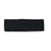 Load image into Gallery viewer, 12 Pack Women's Stretchy Athletic Sport Headbands Sweatbands for Yoga Fitness Dance (Black)