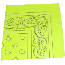 Load image into Gallery viewer, Daily Basic Rave & Festival Bandanas in Bulk - Neon & Cotton for Comfort - 30 Pack