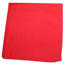 Load image into Gallery viewer, 250 Pack Qraftsy Solid 100% Polyester Bandanas - Bulk Lot