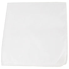 Load image into Gallery viewer, Set of 150 Plain 100% Polyester Bandanas - Bulk Wholesale (Black)