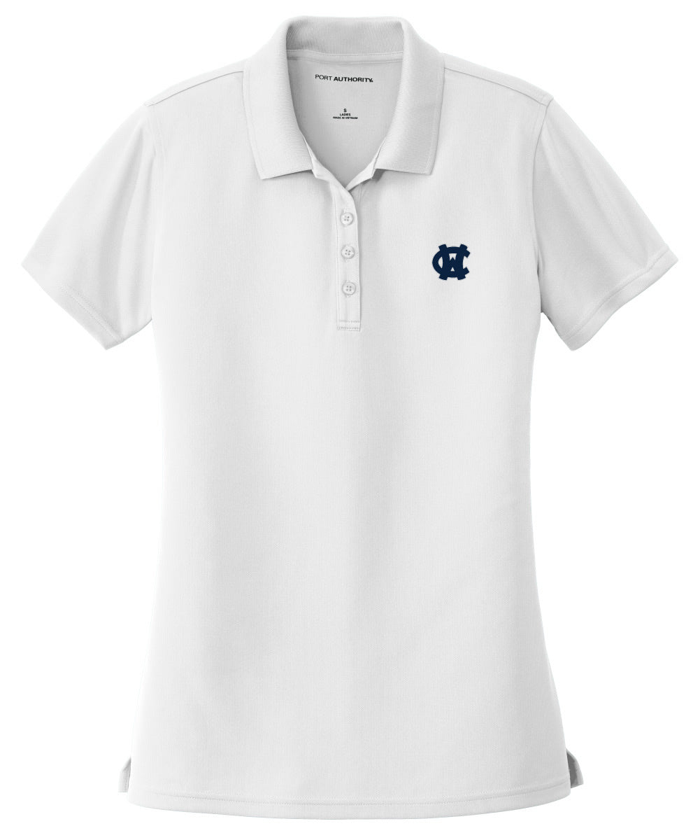 Ladies WC Polo - White