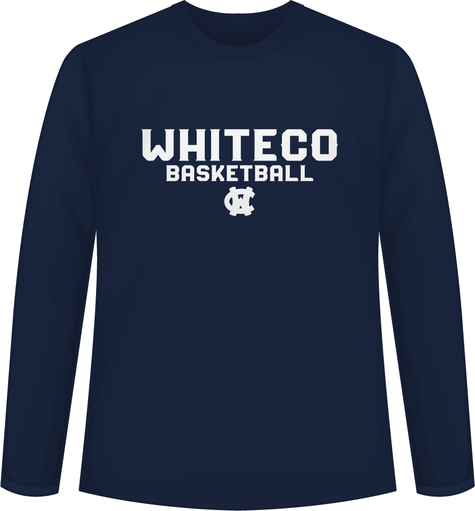 WC Basketball Long Sleeve Tee
