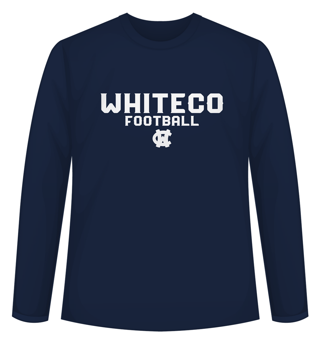 WC Football Long Sleeve Tee