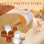 Chair & Table Legs Felt Protective Covers (Set of 8)