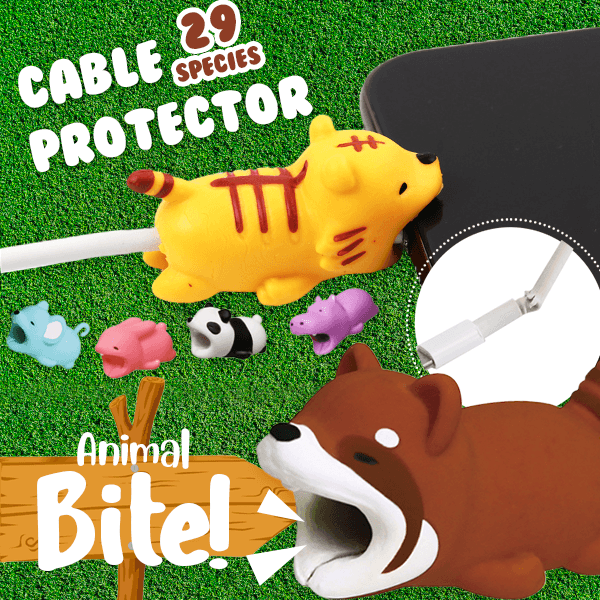 Animal Bite Cable Protectors (Set of 6)