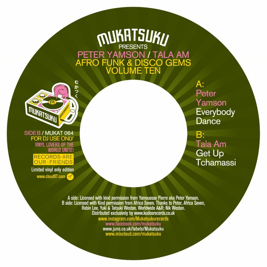 Everybody Dance / Get Up Tchamassi