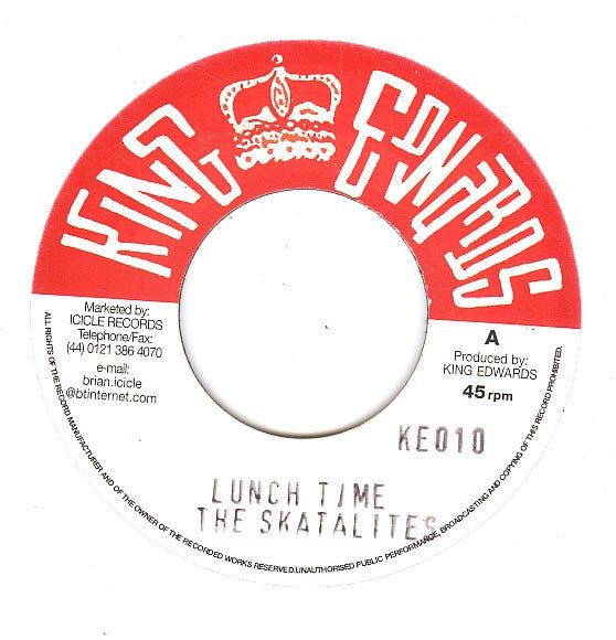 Lunch Time / Gone Is Yesterday