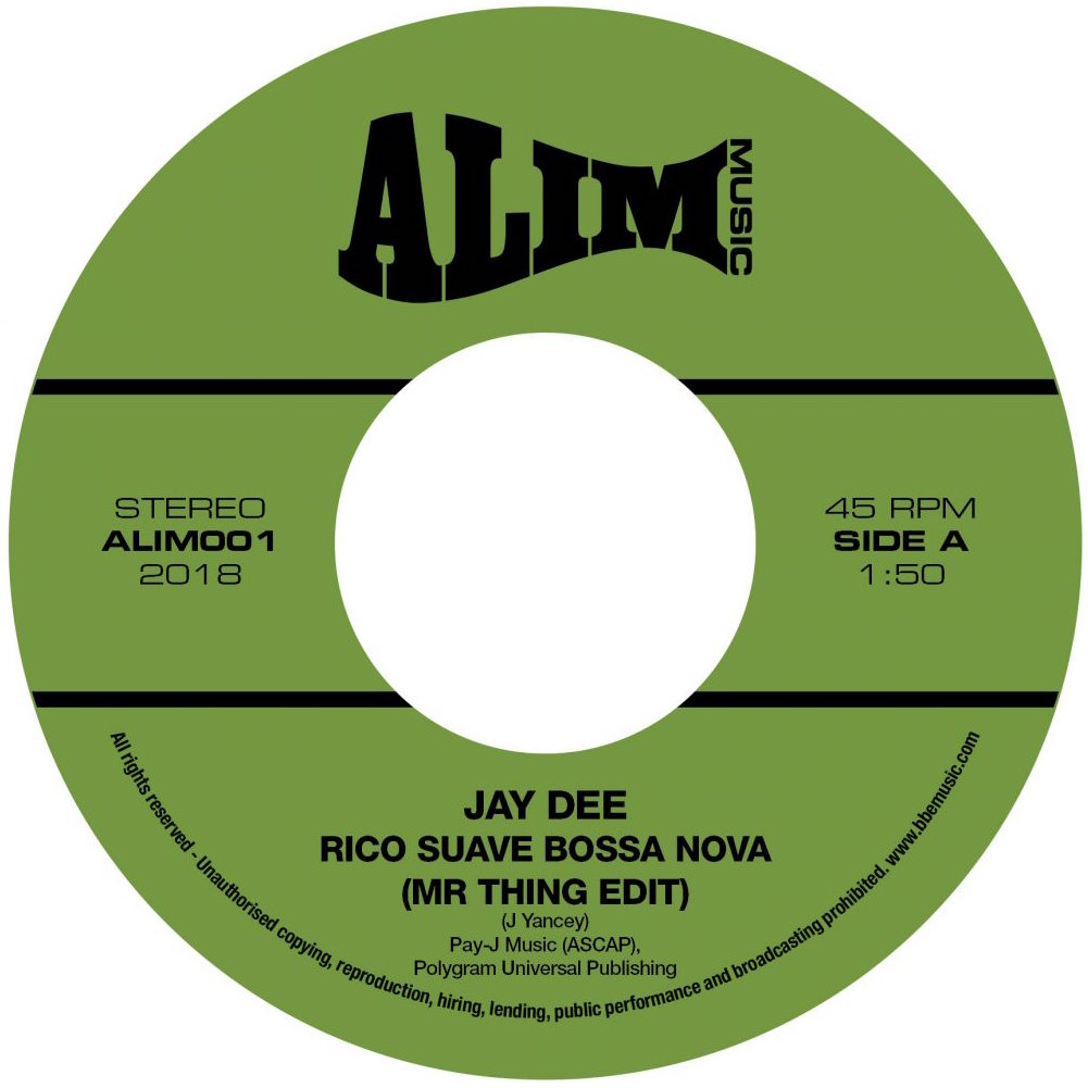 Rico Suave Bossa Nova (Mr Thing Edit) / Come Get It