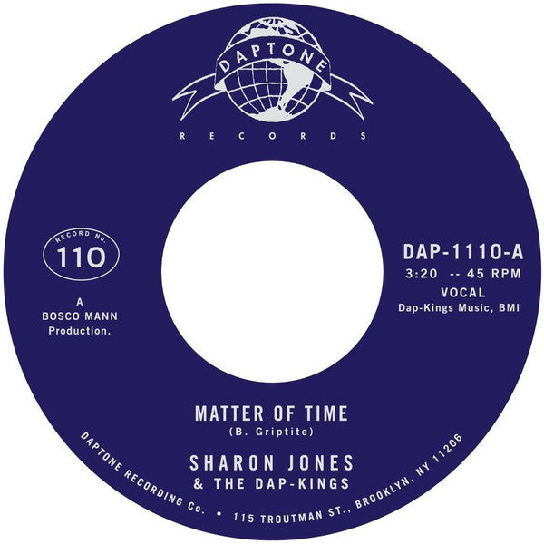 Matter Of Time / When I Saw Your Face